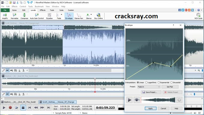 Wavepad Sound Editor Full Crack